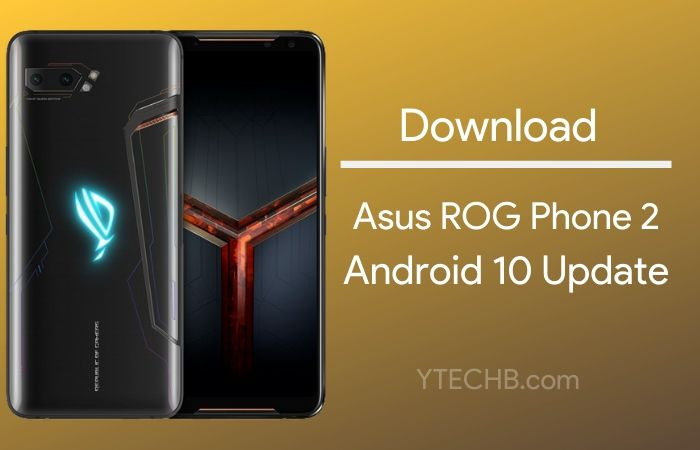android 10 beta update for asus rog phone 2