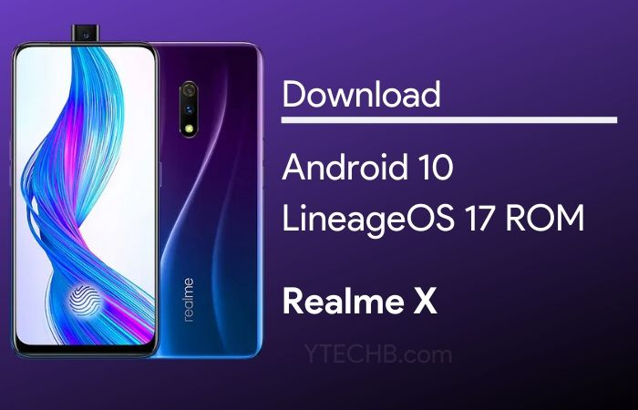 how to install Android 10 on Realme X