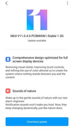 miui 11 update for redmi 6