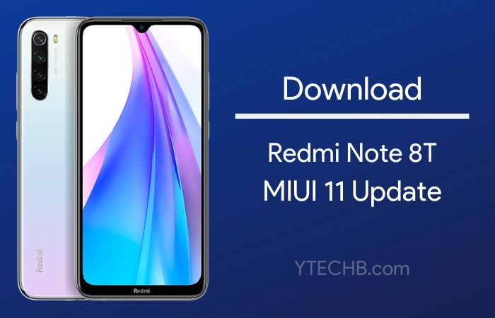 miui 11 update for redmi note 8t