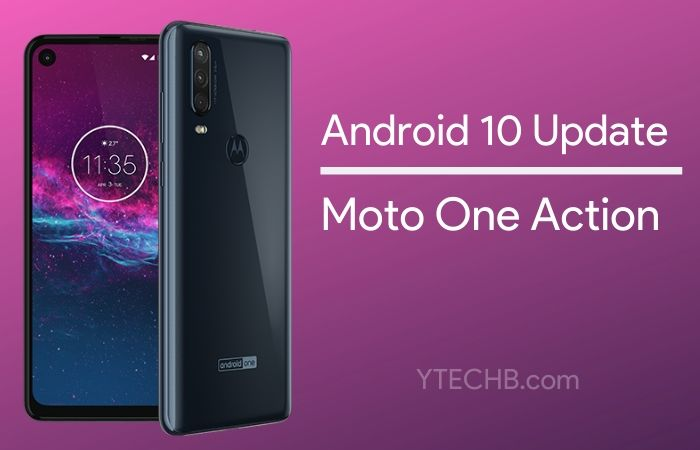 Android 10 Update for Moto One Action