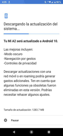 Android 10 Update for mi A2