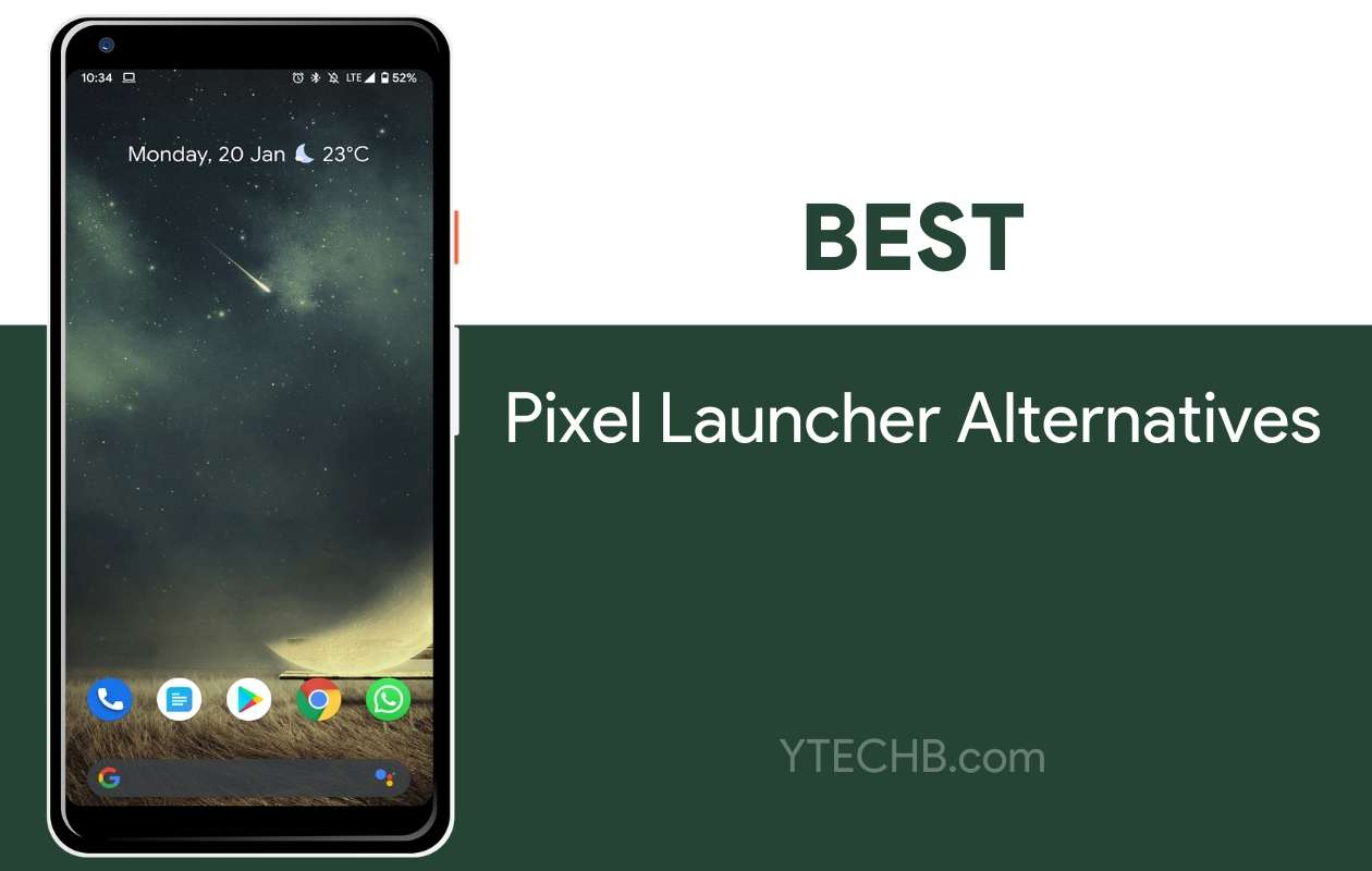 Pixel Launcher Alternatives