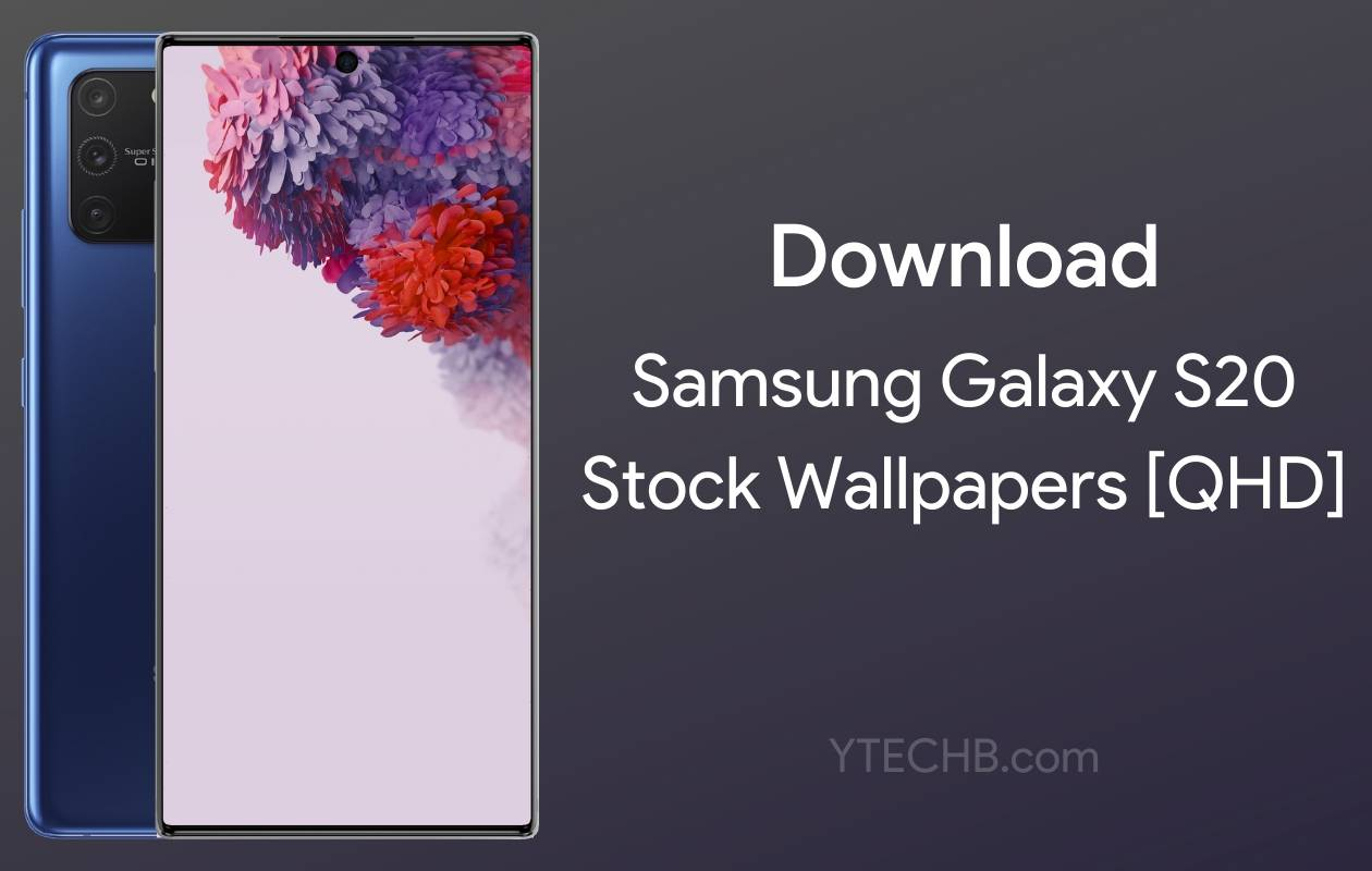 Download Samsung Galaxy S20 Stock Wallpapers Leaked Qhd Flipboard