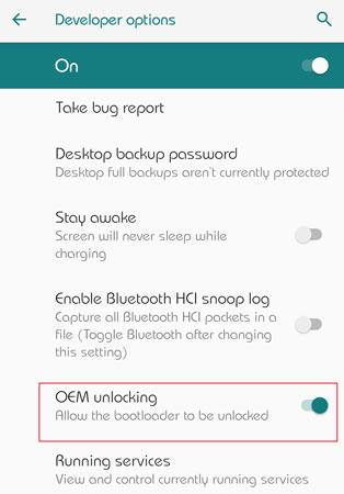 Galaxy A10s Unlock Bootloader