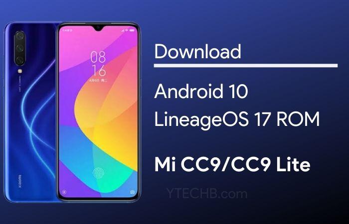 LineageOS 17 for Mi CC9