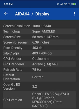 How to overclock Redmi K20 Pro screen