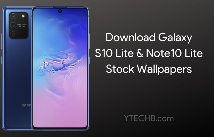 Download Samsung Galaxy S10 Lite Note10 Lite Stock Wallpapers
