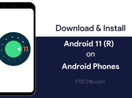 Download Android 11 GSI for any Android Phone