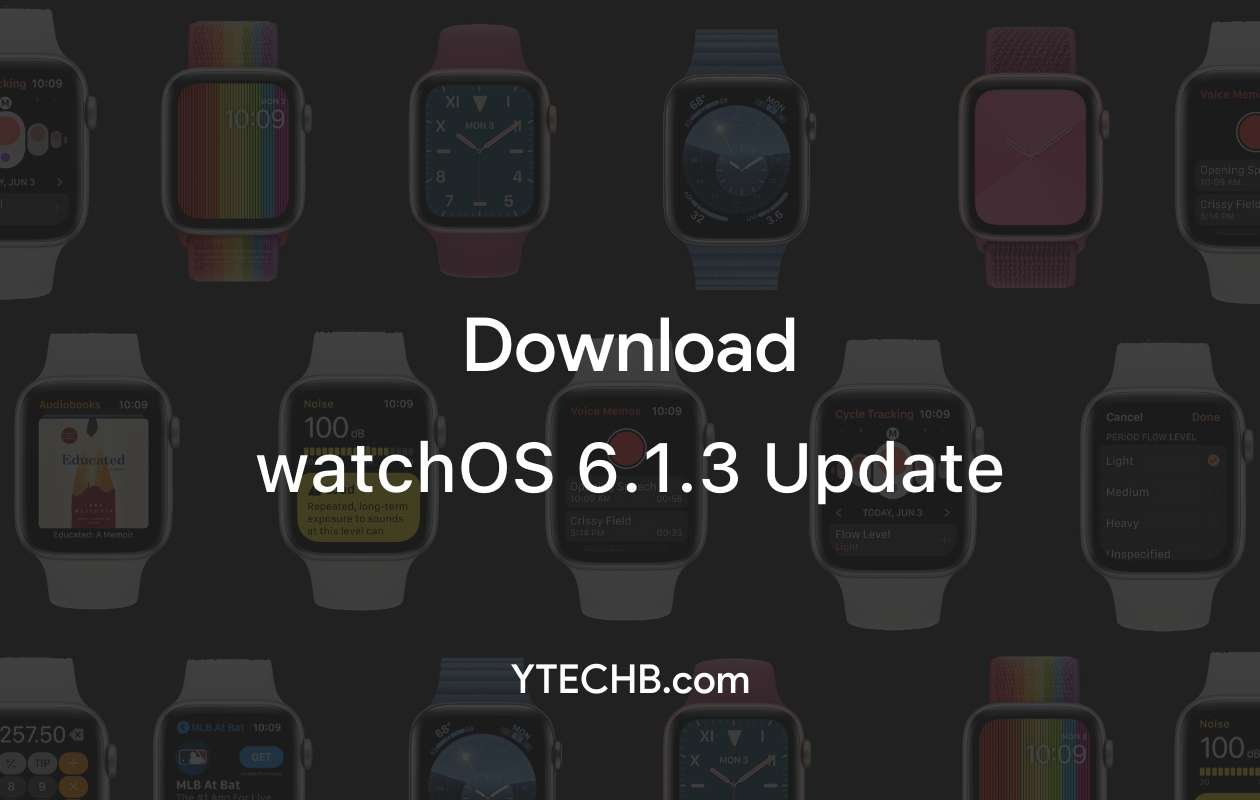 watchOS 6.1.3 update