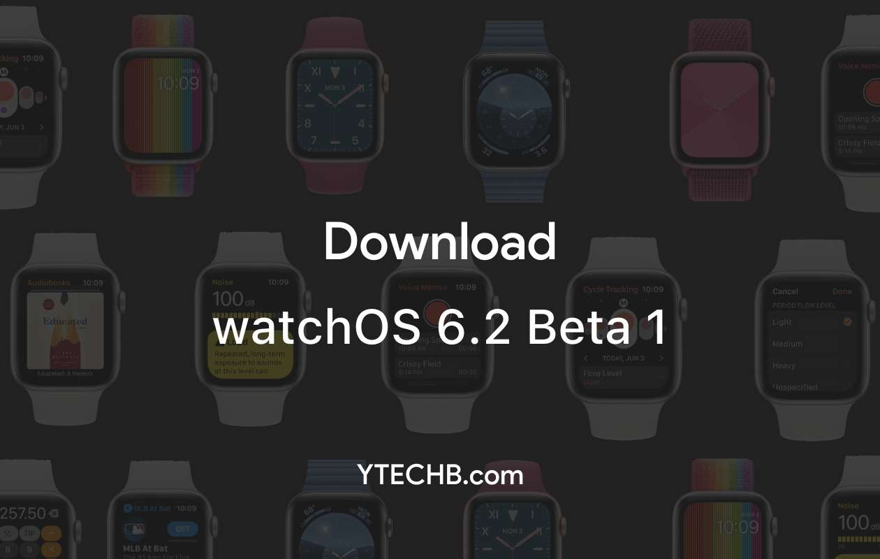 Download watchOS 6.2 beta