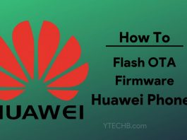 How to flash OTA Firmware on Huawei phones