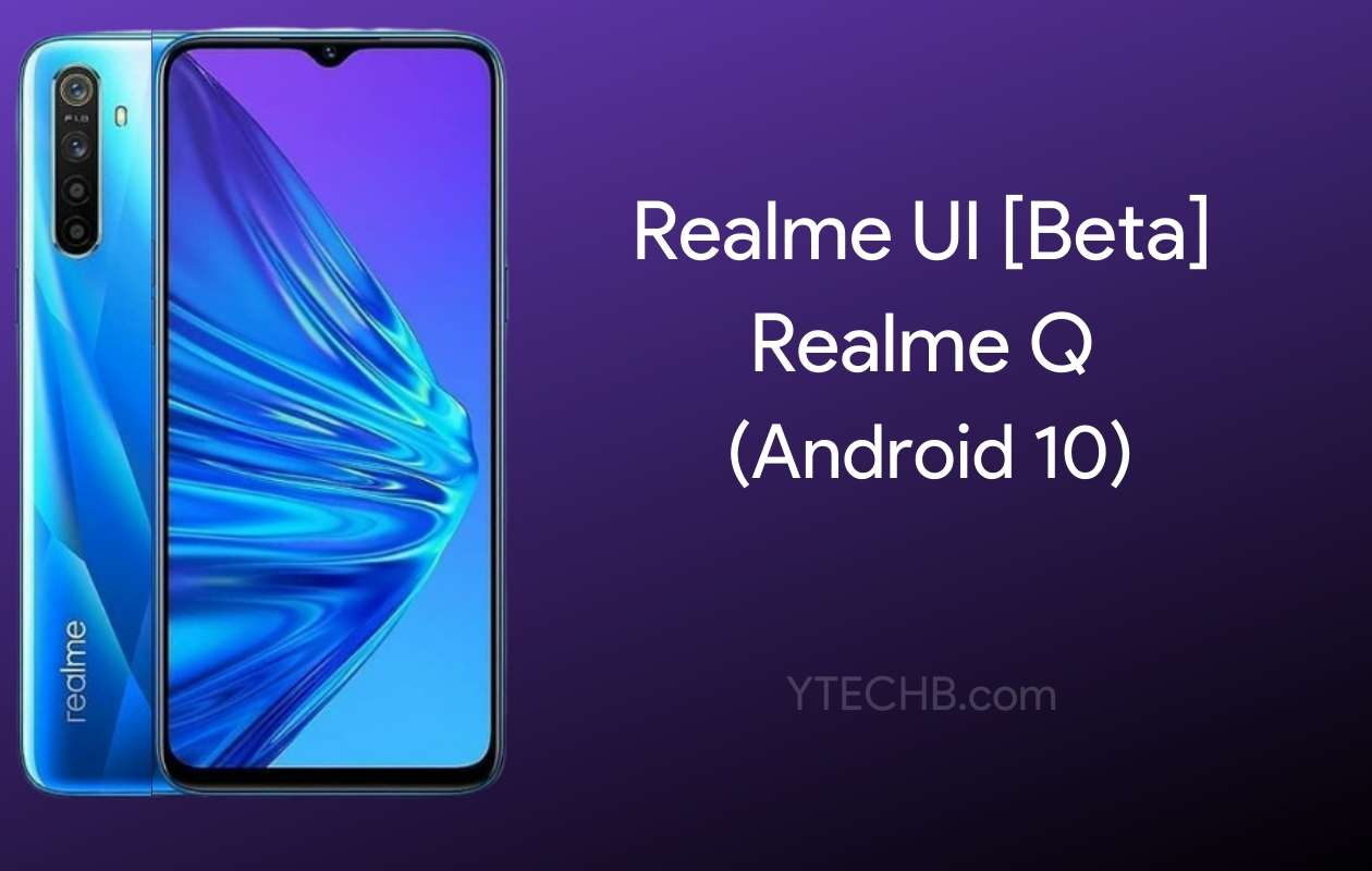 Realme Q Realme UI Update