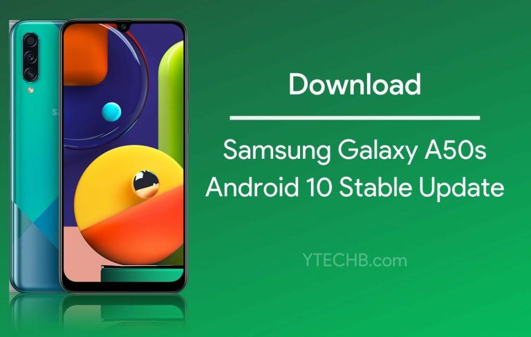 One UI 2.0 based Android 10 Update hits Samsung Galaxy A50s [with Download Link]