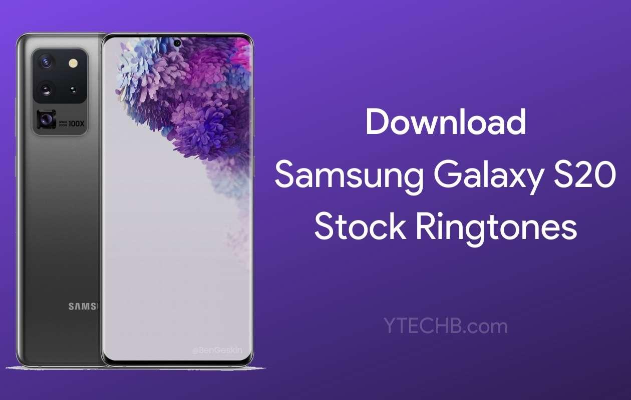 Samsung Galaxy S20 Ringtones
