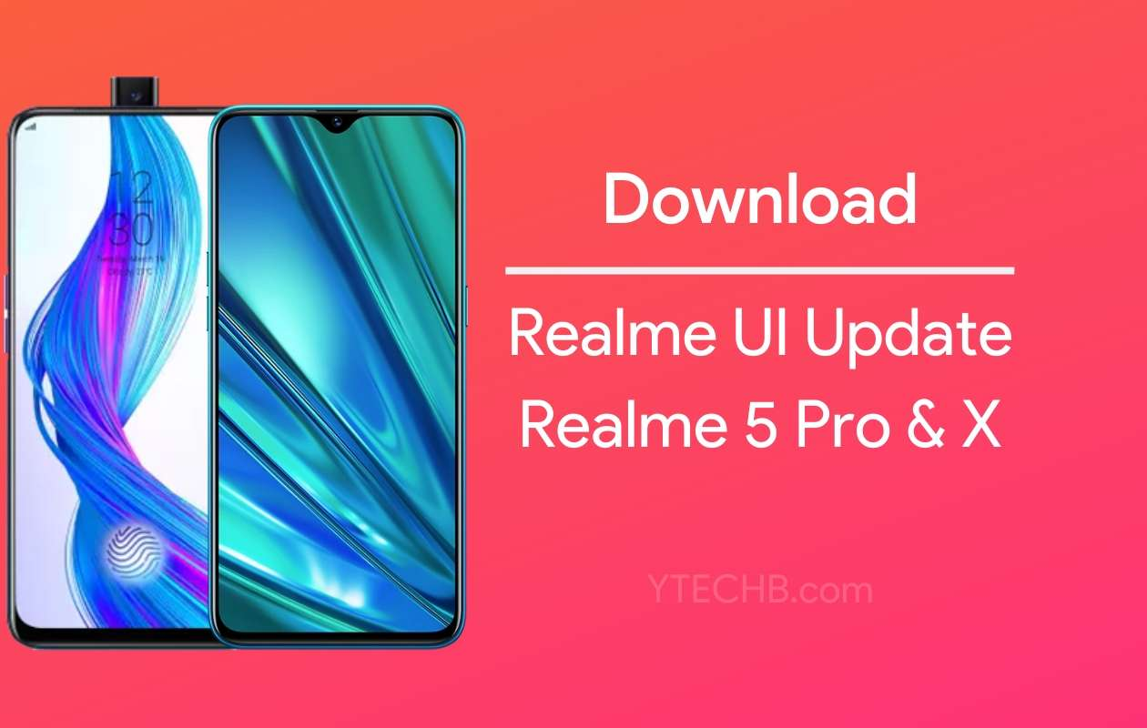 download realme 5 pro realme ui update