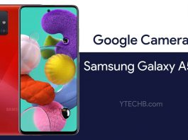 google camera for samsung galaxy a51