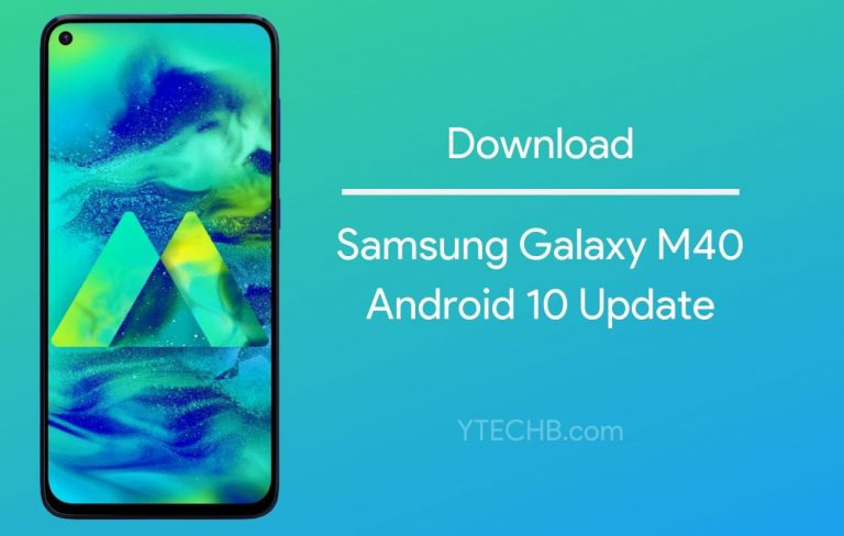 One UI 2.0 based Android 10 Update now available for Samsung Galaxy M40 [with Download Link]