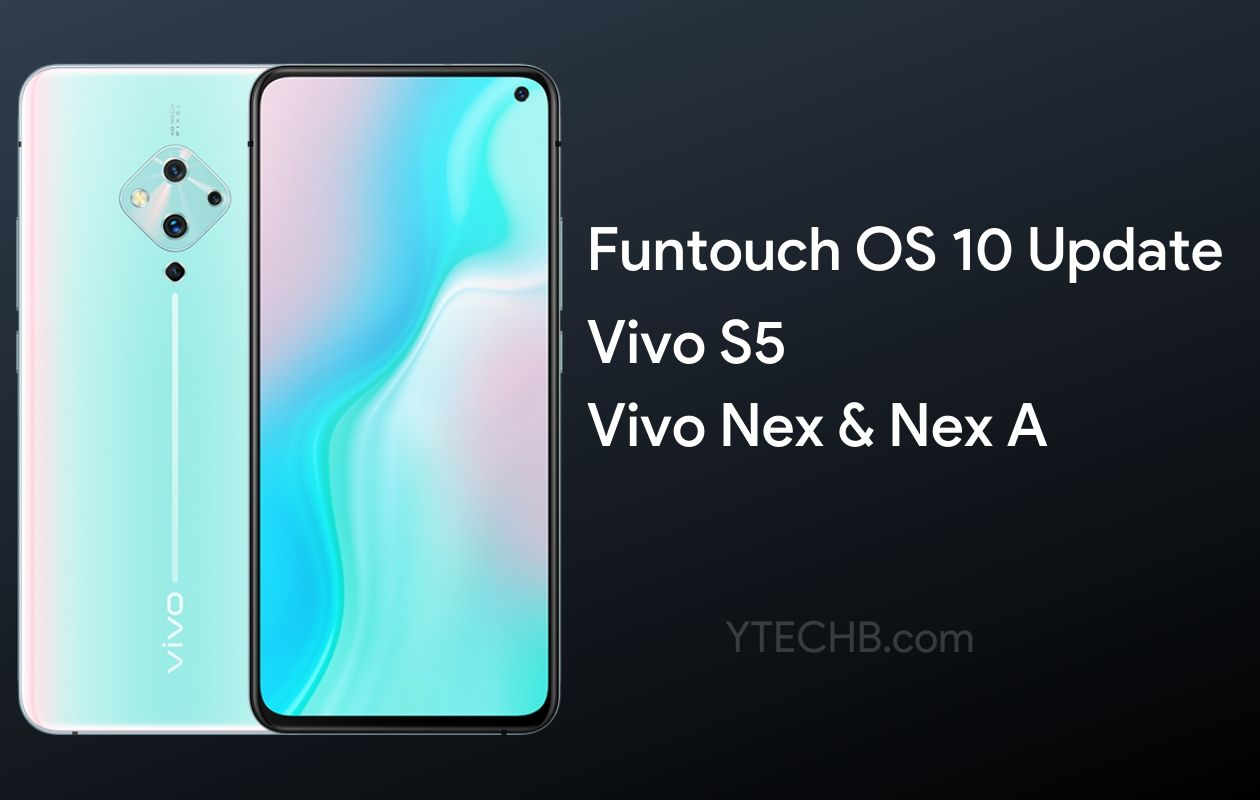 Vivo S5 Funtouch OS 10 Update