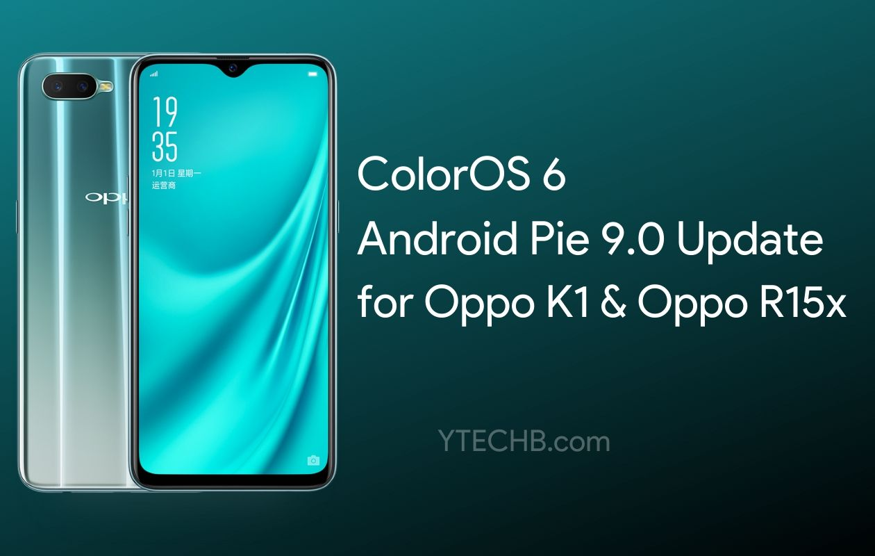 oppo k1 coloros 6 update