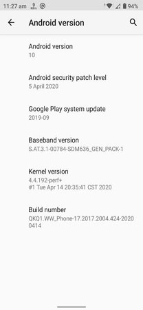 Asus ZenFone Max Pro M1 Android 10 Update