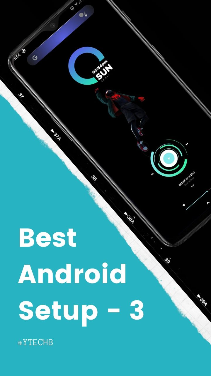Android Homescreen Setup – 3