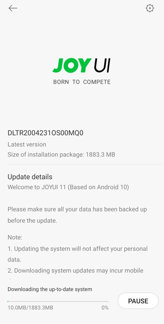 Black Shark 2 Pro Android 10 Update