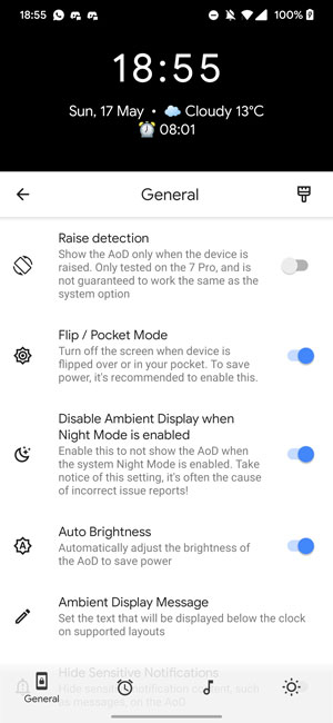Enable Always on Display on OnePlus Phones