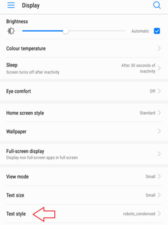 How to Apply Custom Fonts on Huawei Phones