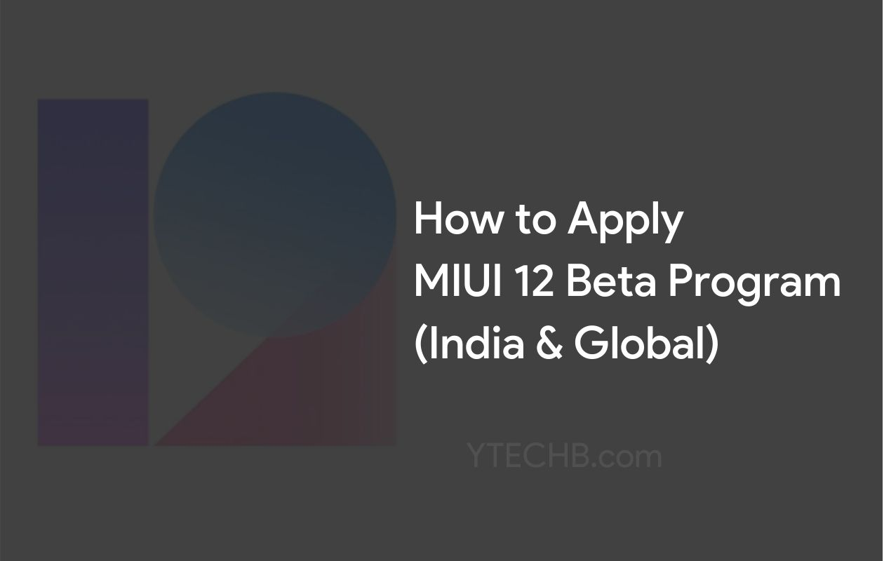 How to Sign Up MIUI 12 Beta Program