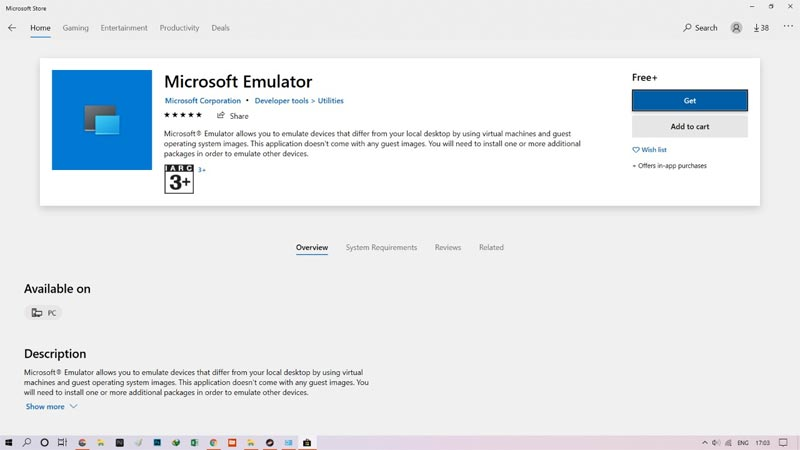 How to Install Windows 10X Emulator on Windows 10