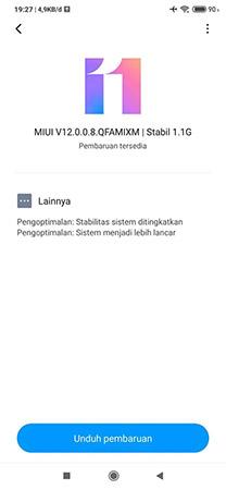 Mi 9 MIUI 12 Global Stable Update