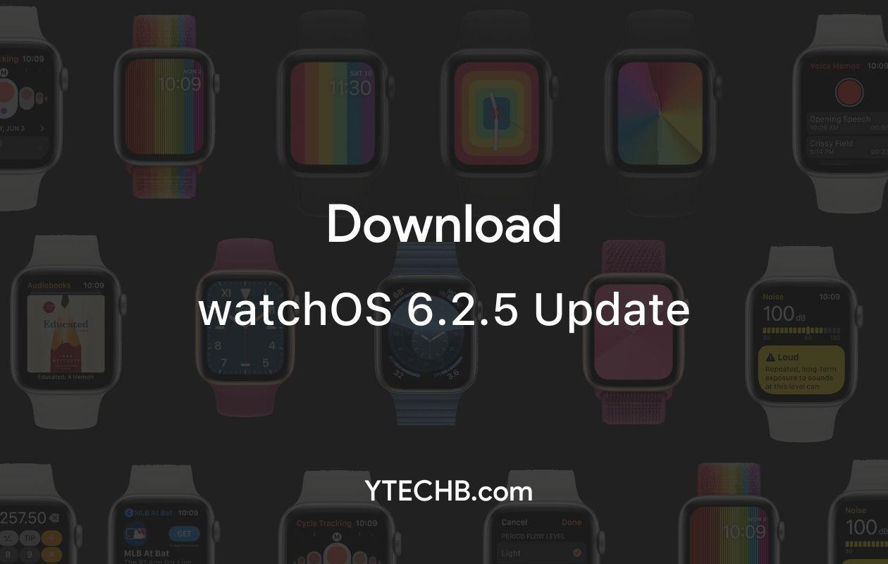 watchOS 6.2.5 update