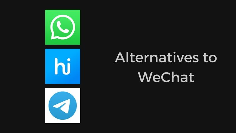 wechat alternatives