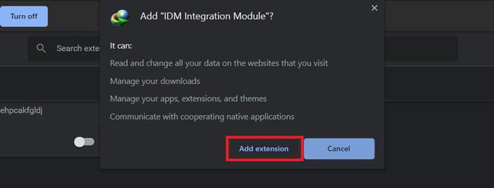 Download IDM extension idmgcext crx
