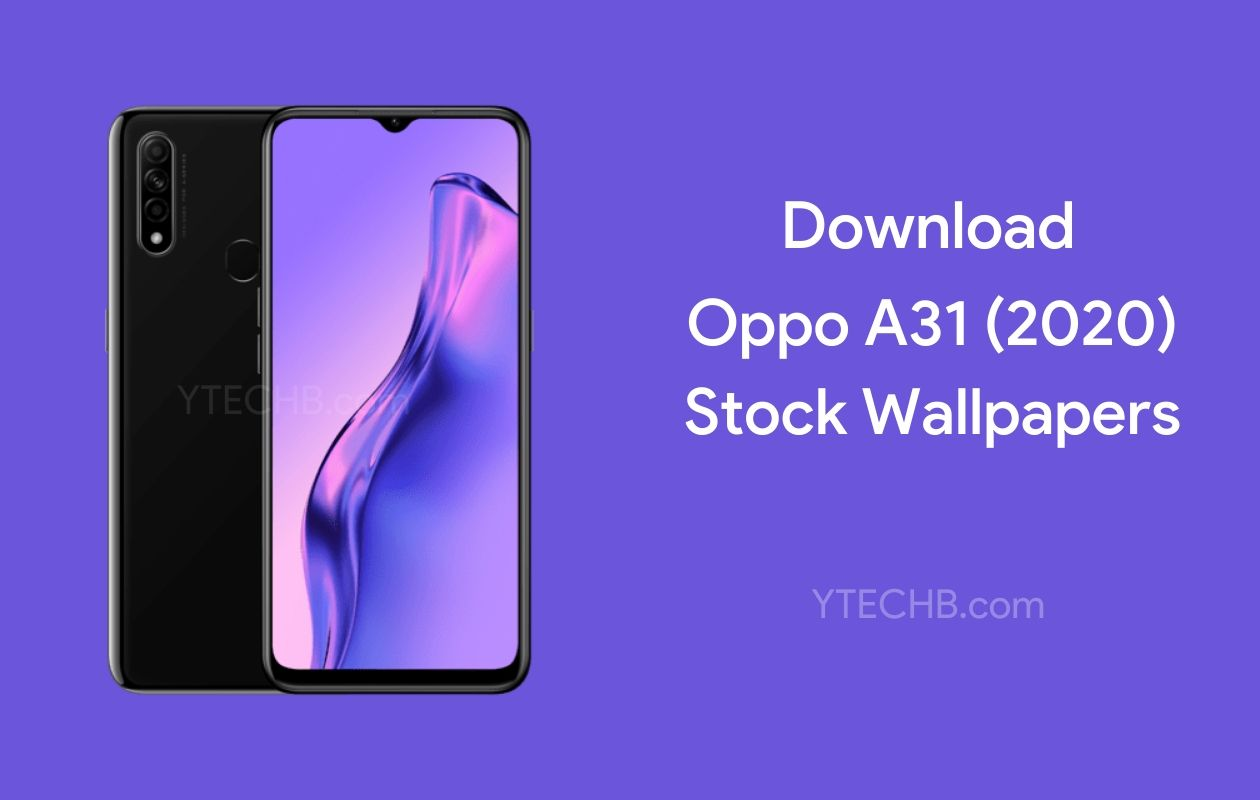 Download Oppo A31 2020 Stock Wallpapers Hd