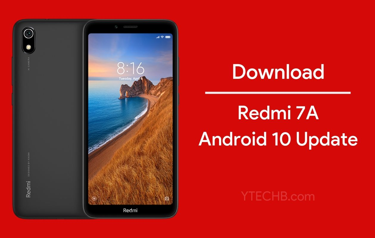 Redmi 7A Android 10 Update