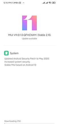 Redmi Note 7 Pro Android 10 Update