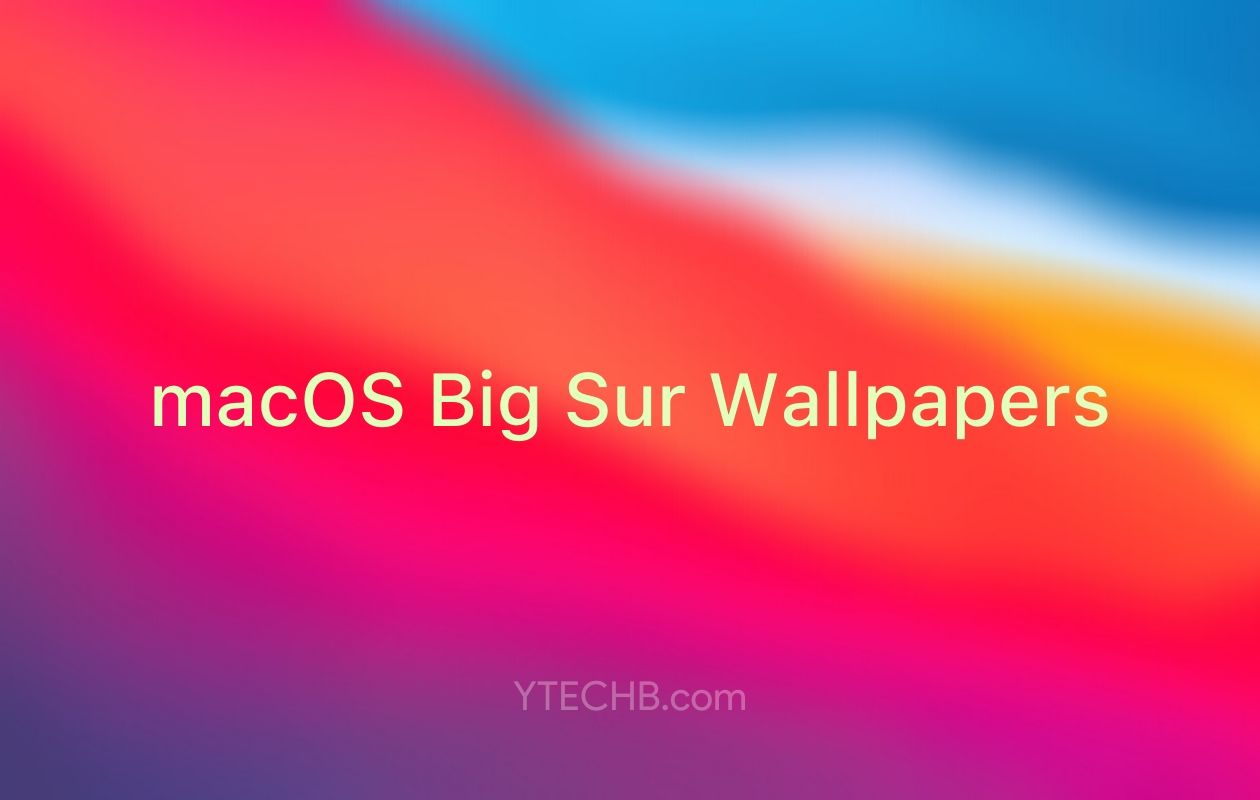 Download Macos Big Sur Wallpapers 5k Resolution Official