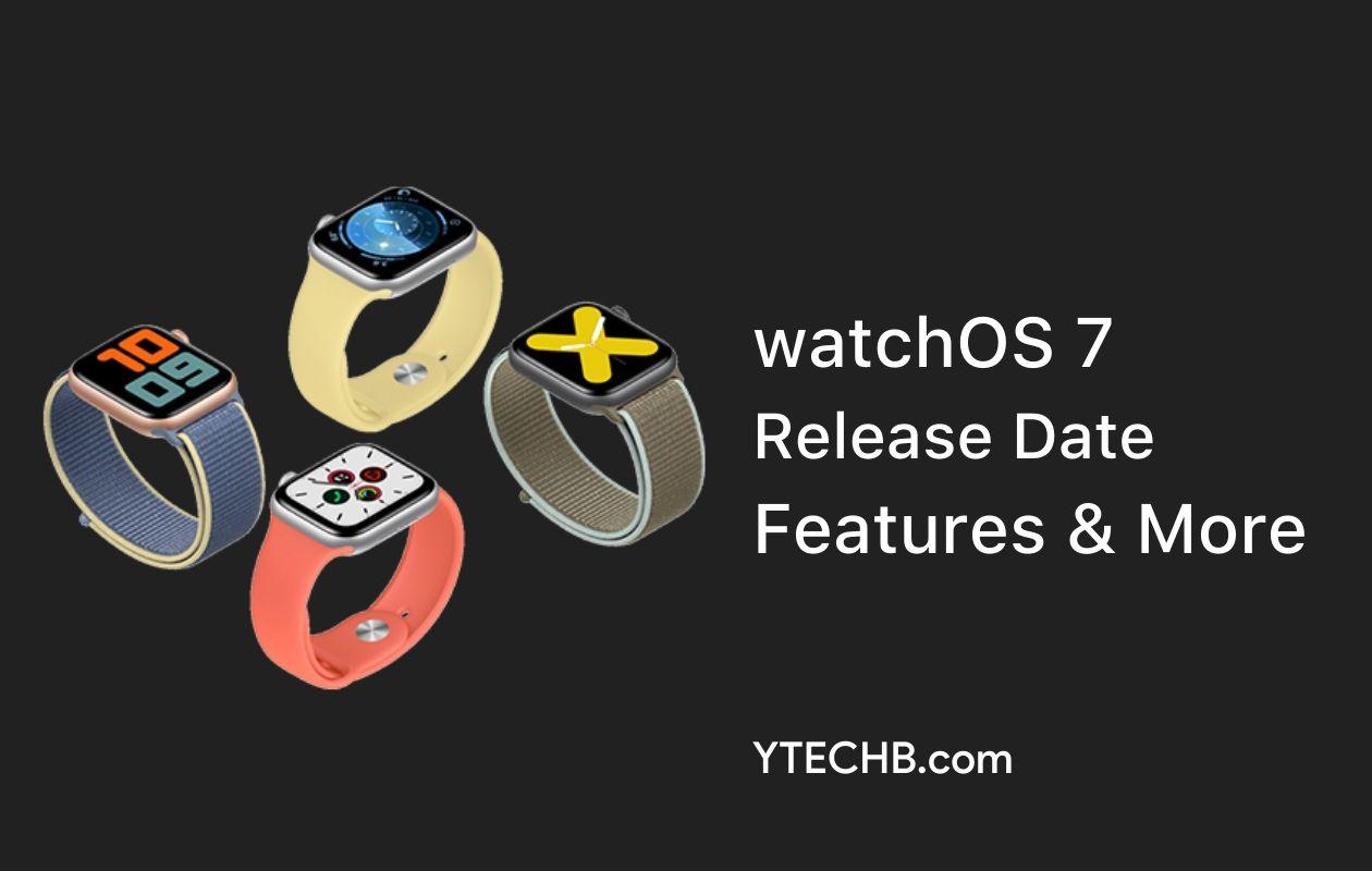 watchOS 7 Release Date