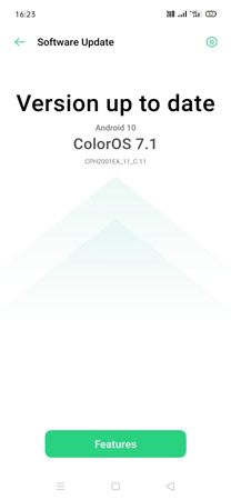Oppo F15 Android 10 Update