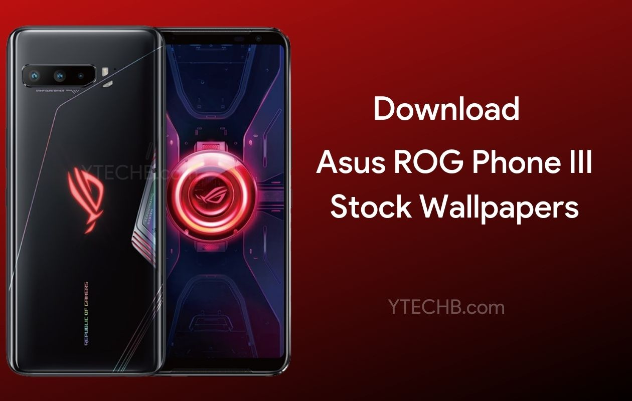 Asus ROG Phone 3 Wallpapers