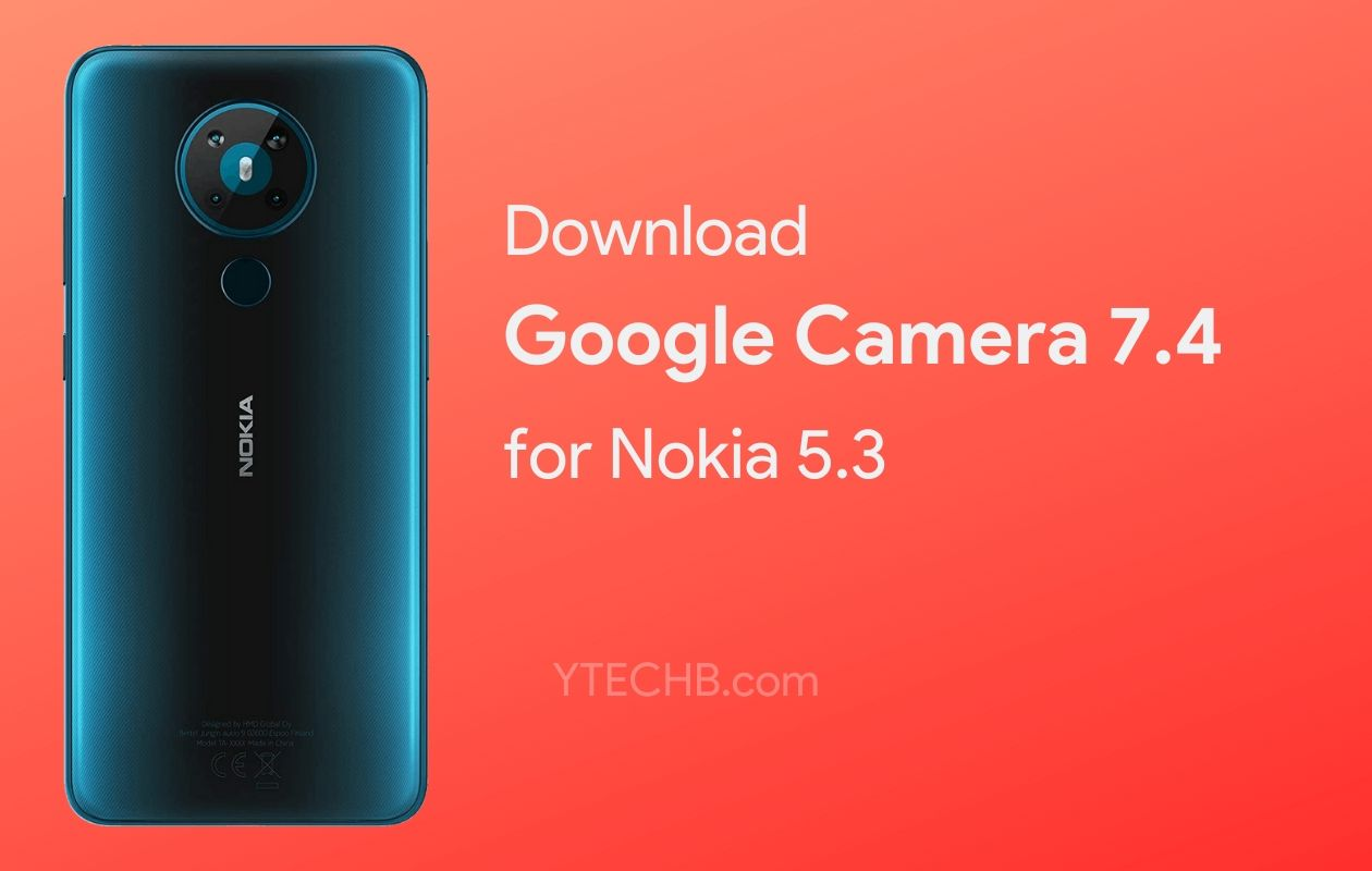 Google Camera for Nokia 5.3
