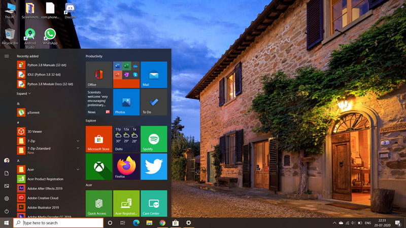 Best Themes for Windows 10