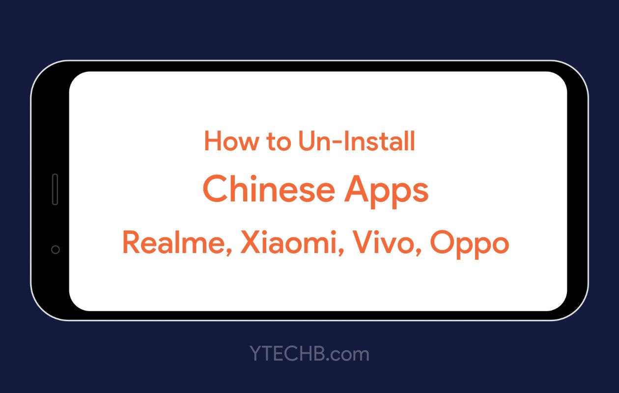 Uninstall Chinese apps without root