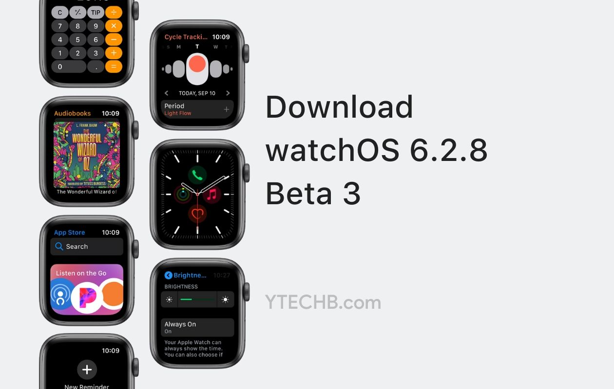 watchOS 6.2.8 beta 3