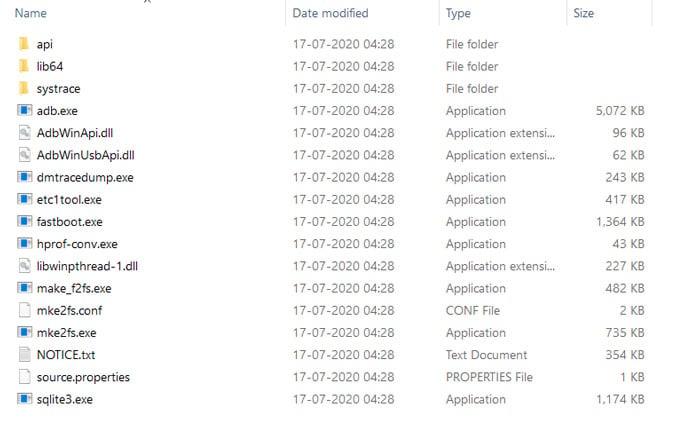 Android SDK Platform Tools