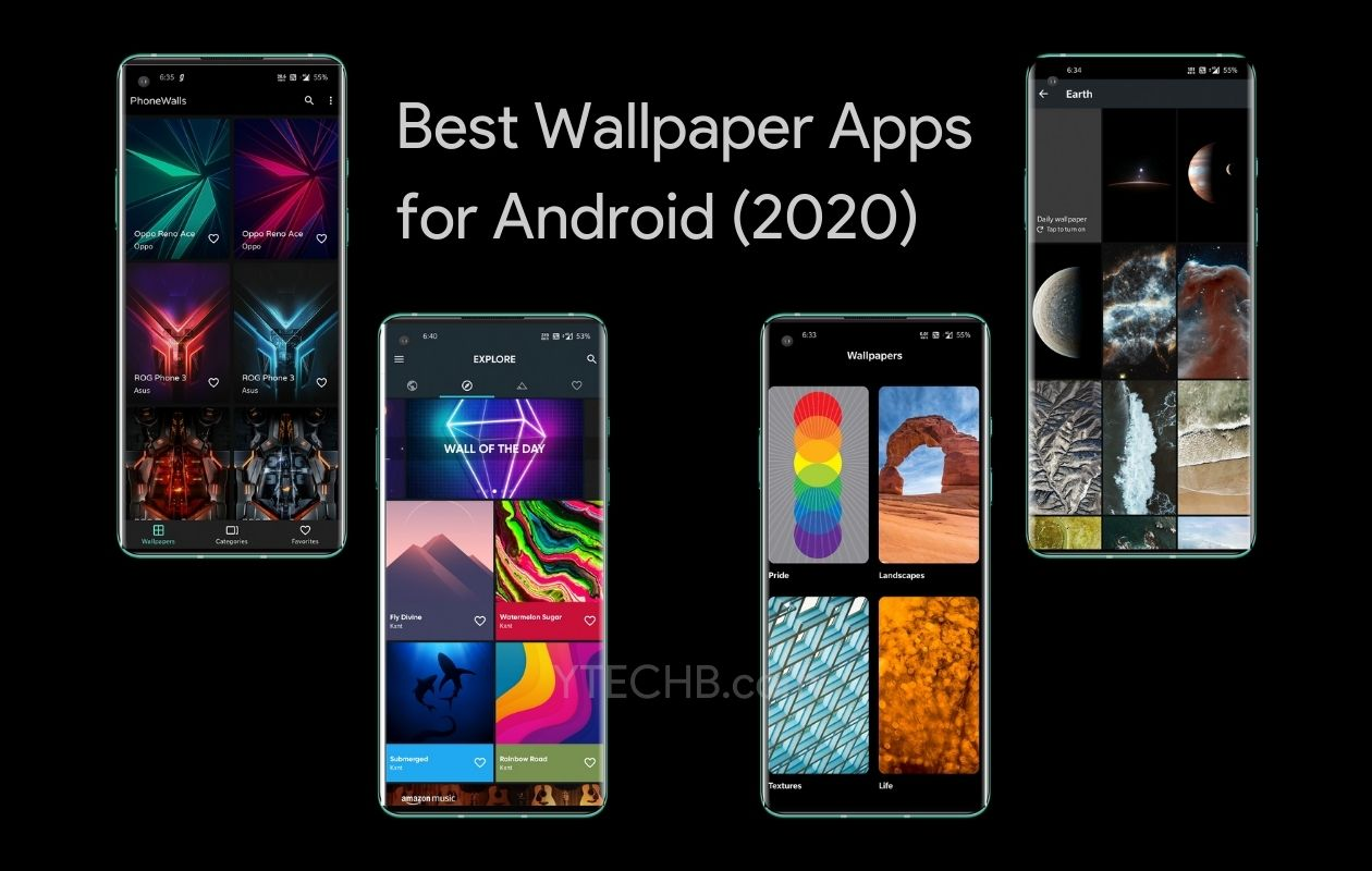 10 Best Wallpaper Apps For Android With Awesome Backgrounds 2020