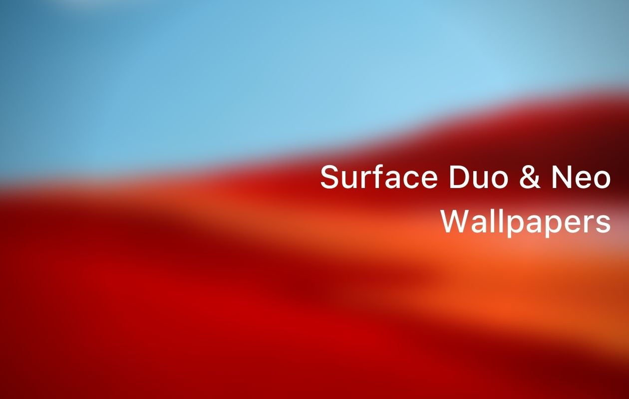 Microsoft Surface Duo Wallpapers