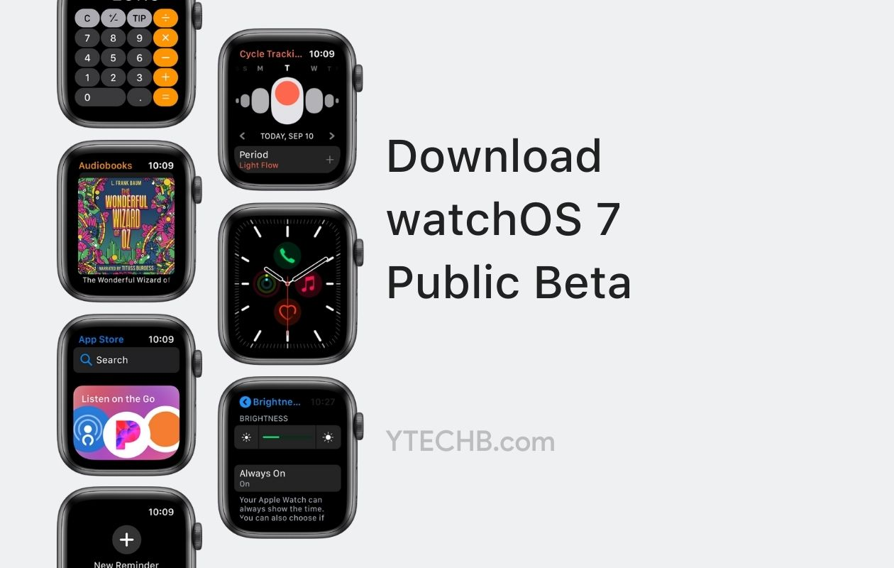 watchOS 7 Public Beta Update